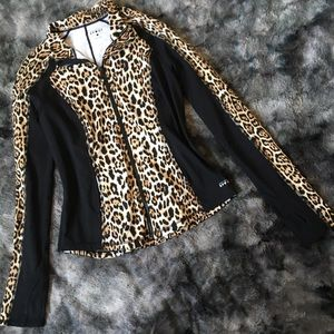 Juicy Couture Sport Leopard Jacket